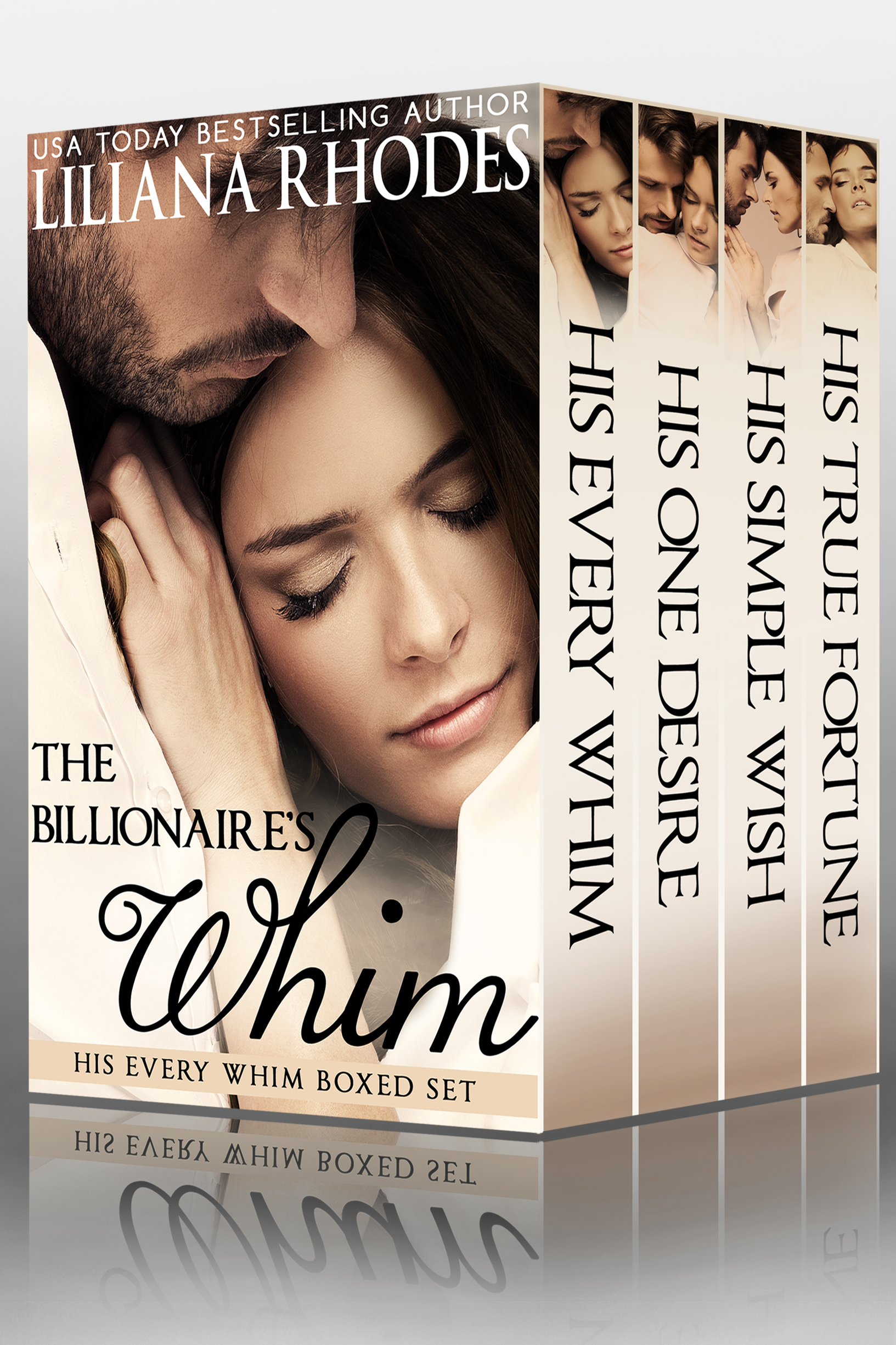 The Billionaire's Whim, His Every Whim boxed set by Liliana Rhodes